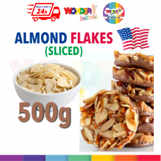 Almond Flake  Almond Slice|  Badam Keping USA Premium Grade |500gm - Florentine Use