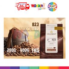 HALAL Callebaut 823 Milk Couverture Milk Callets 250G | 500G | 1KG |PREMIUM BELGIUM BAKING CHOCOLATE