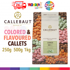 CALLEBAUT COLORED & FLAVOURED CHOCOLATE 250g