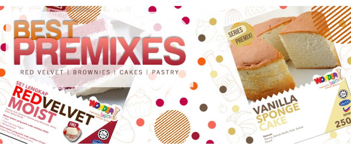 Premixes by Wonder Bakes