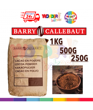 Barry Callebaut Premium Asian Cocoa Powder | Serbuk Koko Barry Callebaut | 1kg, 500g, 250g